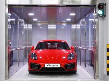 Лифты для автомобилей в Особняке Кушелева-Безбородко